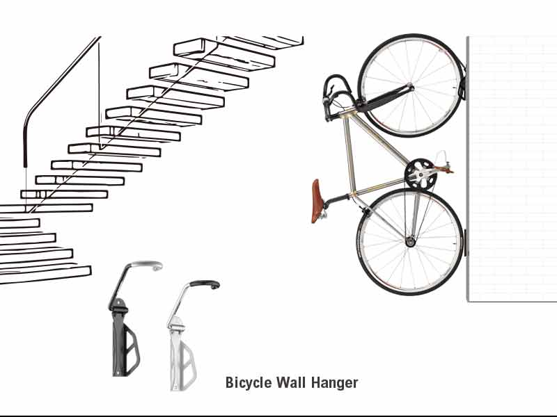 Bicycle Wall Hanger : IB-ST3